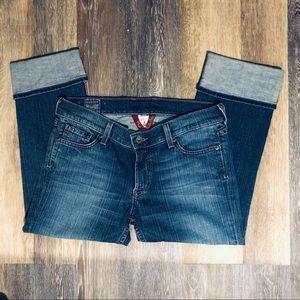 Lucky Brand Crop Jeans Sz 6 sundown skinny cuffed
